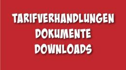 Dokumente zu den Tarifverhandlungen im BFW als download